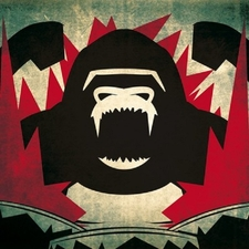 Gorillas On Drums