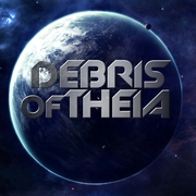 Debris of Theia