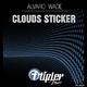 Alvaro Wade Clouds Sticker
