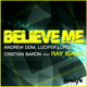 Andrew Ddm & Lucifer Lopez & Christian Baron Feat Ray Isaac Believe Me 2010