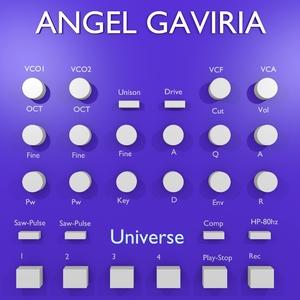 Angel Gaviria - Universe (Angel Gaviria Records)