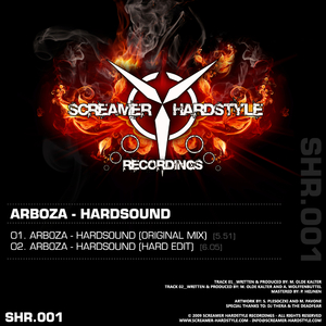 Arboza - Hardsound (Screamer Hardstyle Recordings)