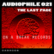 Audiophile 021 The Last Page