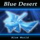 Blue Desert Blue World