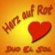 Duo el Sol Herz Auf Rot