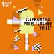 Elephantmat - Paris Flushed Toilet