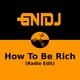 Gnidj How to Be Rich(Radio Edit)