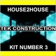 House 2 House Tek Construction Kit Number 3