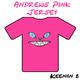Keenan B Andrew's Pink Jersey