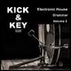 Kick & Key Electronic House Drummer, Vol. 2