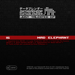 Madelephant - Just Talented Ep (Datablender)