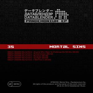 Mortal Sins - Pandemonium Ep (Datablender)