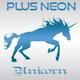 Plus Neon Unicorn