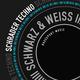 Schrader Techno Schwarz & Weiss