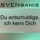 Sven Banis Du Entschuldige Ich Kenn Dich