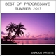 Various Artists Best of Progressive Summer 2013