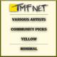Various Artists - Community Picks Yellow Minimal