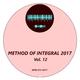 Various Artists Method of Integral 2017, Vol. 12
