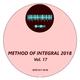 Various Artists Method of Integral 2018, Vol. 17
