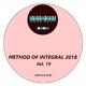 Various Artists Method of Integral 2018, Vol. 19