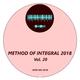 Various Artists Method of Integral 2018, Vol. 20