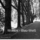 Wortlos Blau-Weiß