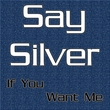 Say Silver - If You Want Me