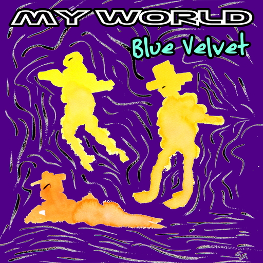 My World - Blue Velvet