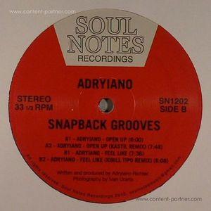 Adryiano - Snapback Grooves (Repress)