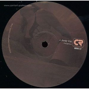 Andy Vaz & Andy Garcia - The Andy To Andy E.p. (Cryovac Records Detroit)