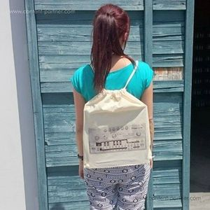 Backpack 303 - 100% cotton backpack (Backpack)