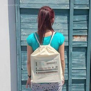 Backpack 707 - 100% cotton backpack (Backpack)