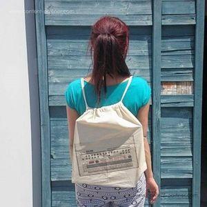 Backpack 909 - 100% cotton backpack (Backpack)