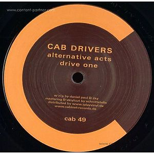 Cab Drivers - Alternative Acts (Cabinet)