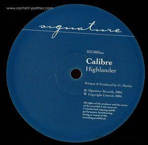 Calibre - Mr Maverick / Highlander (Vinyl Only)
