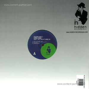 Chris Finke, Black Asteroid Remix - Don't try this at home EP (hidden recordings)