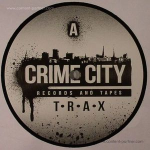 Crime Scene - CRIME CITY TRAX (BLACK VINYL) (Crime City)