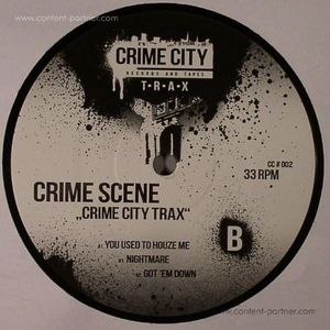 Crime Scene - CRIME CITY TRAX (BLACK VINYL)