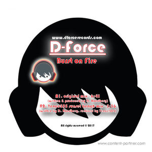 D-Force & Yence505 - Burst on Fire / Summer Vibe EP (D-Force Records)