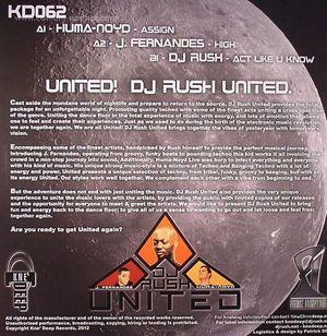DJ Rush / J. Fernandes & Huma-Noyd - United! (back in stock)