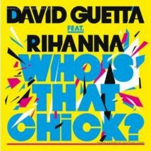 David Guetta Feat. Rihanna - Who's That Chic (white)