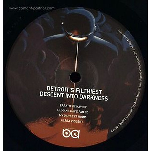 Detroit's Filthiest / Go Nuclear - Machine Learning & Descent Into Darkness (Bass Agenda Recordings)