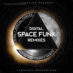 Digital - Spacefunk Remixes (Function Records)