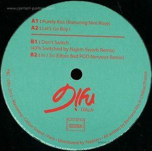 Eedio - 43 EP (Najem Sworb & Elbee Bad Rmx) (D!fu Records)