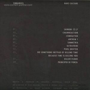 Emmanuel - Rave Culture Lp