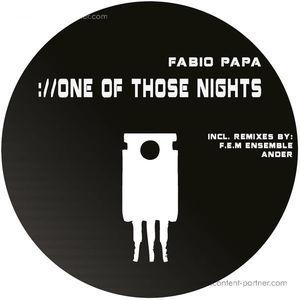 Fabio Papa - One of Those Nights (Freunde Elektronischer Musik)