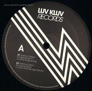 Federico Caffaro & Ezequiel Gerini - Keep It Real EP (Nick Beringer & Dj Nav  (Luv Kluv Records)