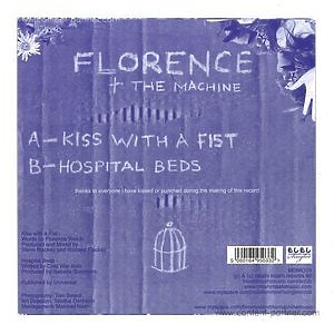 Florence & The Machine - Kiss With A Fist (Ltd. 7'')