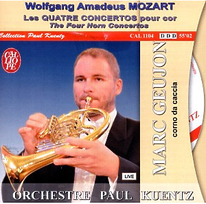 "Geujon,Marc/Kuentz,Paul/Orchestre Paul K - S""mtliche Hornkonzerte 1-4 (GA) (Calliope Indesens)"