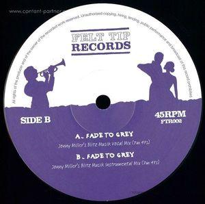 Jm Edits, Jonny Miller - Fade To Grey (jonny Miller Remixes) (Felt Tip Records)